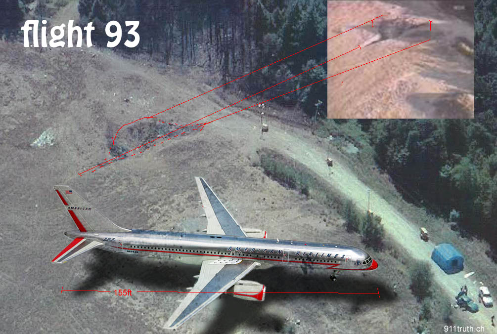 Flight 93 shot down