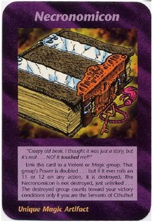 Necronomicon (UE) Illuminati Card NWOs