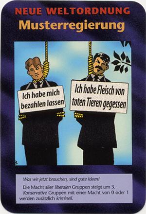 Neue Weltordnung Musterregierung (German Political Correctness) INWO