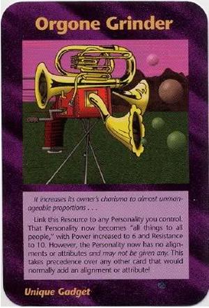 Orgone Grinder (Assassins) Illuminati Card NWO