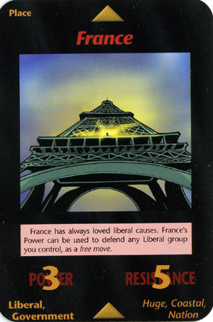 illuminati card Paris France